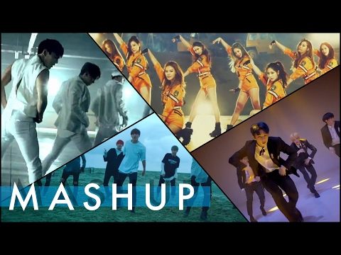 BTS/SEVENTEEN/SNSD/MONSTA X   Save Me/Highlight/Catch Me If You Can/걸어(All In) MASHUP