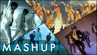 BTS/SEVENTEEN/SNSD/MONSTA X _ Save Me/Highlight/Catch Me If Yo…