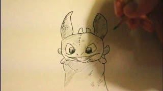 toothless dragon drawing draw easy step train beginners kid getdrawings