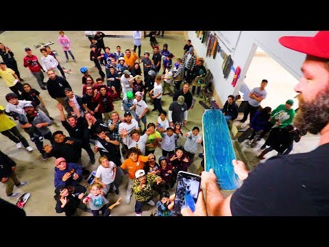 A DAY WITH BRAILLE SKATEBOARDING!