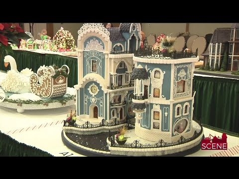 Winning Designs at 25th National Gingerbread House Competition