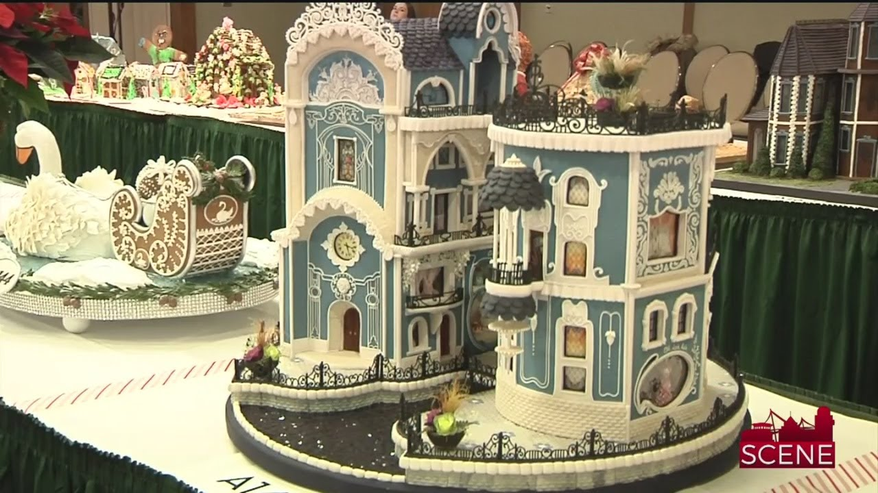 Winning Designs At 25th National Gingerbread House