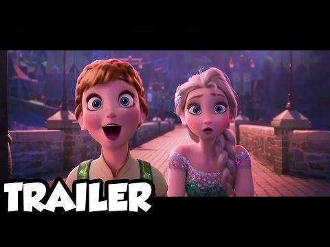 Frozen Fever Trailer 2015 Short Film HD March 23rd during Cindarella Movie - LIVE REACTION