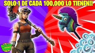 LES 7 SKINS MOST RARE de FORTNITE! CASI NO ONE HAS THEM!! | Loup Jz