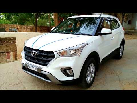 Hyundai Creta 1.4 CRDi EX with Alloy Wheels Review in 2019 | Best Design SUV of India