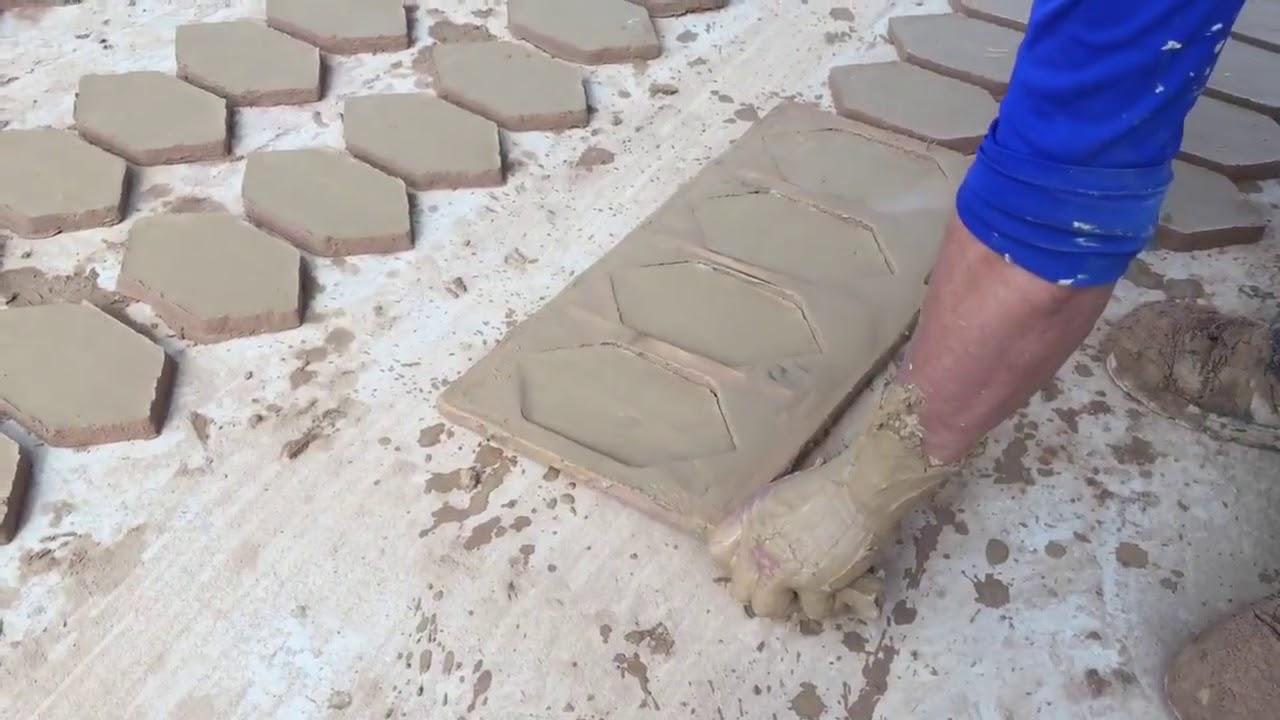 Como se hace suelos de barro cocido youtube Suelo de barro cocido