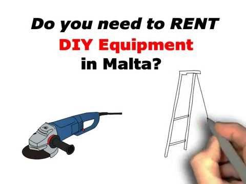 DIY Equipment for Rent in Malta