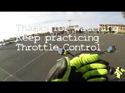 The fundamentals series throttle control drills in 4k
