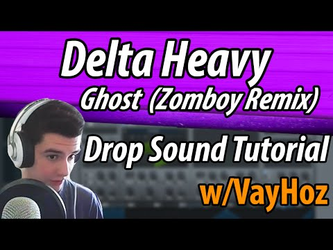 Delta Heavy - Ghost (Zomboy Remix) Drop Sound (Serum) [Sound Design Tutorial #14]