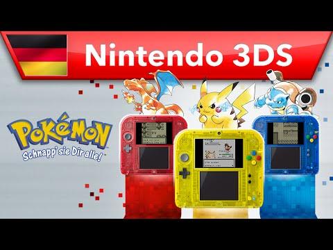 Pokémon Rote Edition, Blaue Edition & Gelbe Edition - Trailer (Nintendo 3DS)