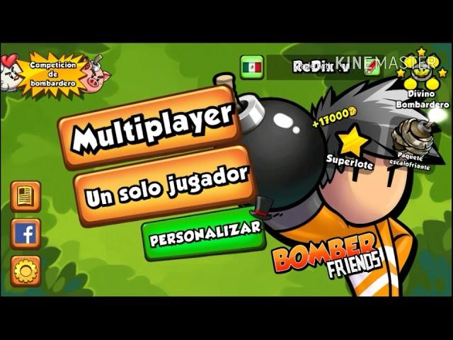 JUGANDO UNAS PARTIDAS   Bomber Friends