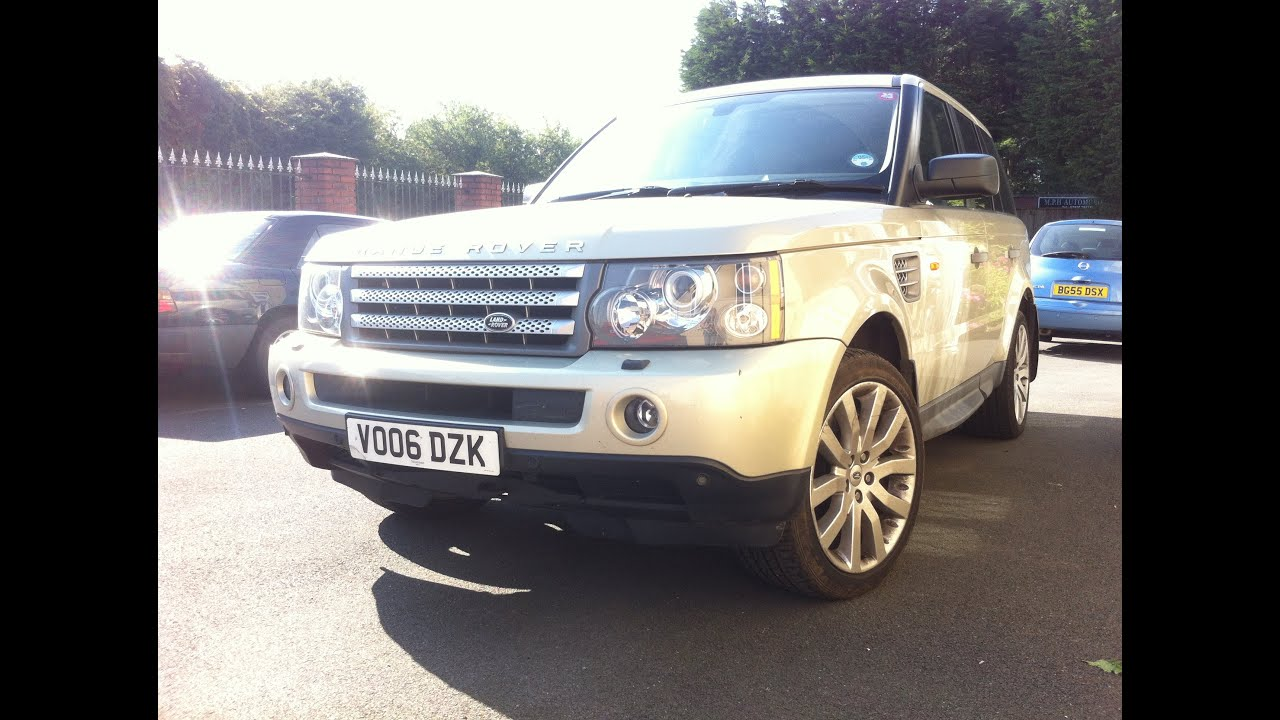 2006 range rover sport supergharged suv review youtube. Black Bedroom Furniture Sets. Home Design Ideas