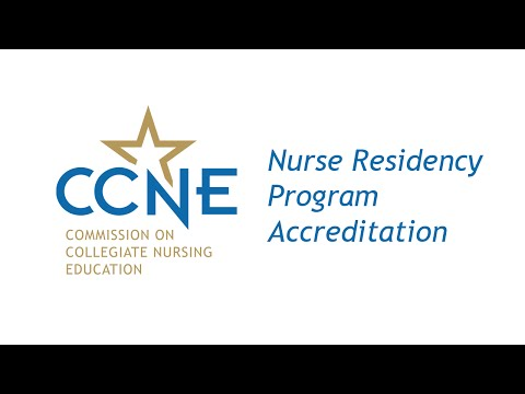 Nurse Residency Programs - CCNE Accreditation
