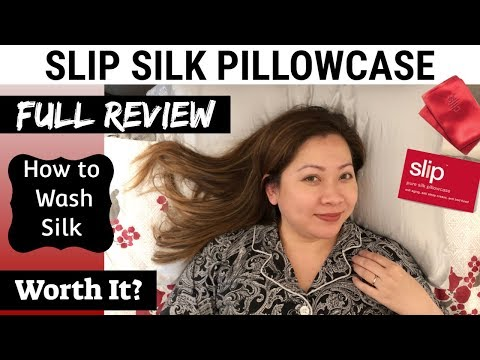 slip-silk-pillowcase-|-full-review,-how-to-wash-silk,-worth-it?-|-great-for-hair-&-skin