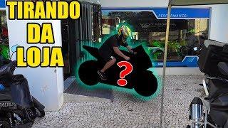 TIRANDO MINHA NOVA MOTO DA CONCESSIONÁRIA ! thumbnail