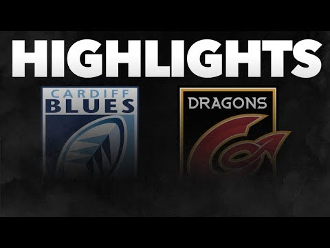 Guinness PRO14 Round 9: Cardiff Blues V Dragons Highlights