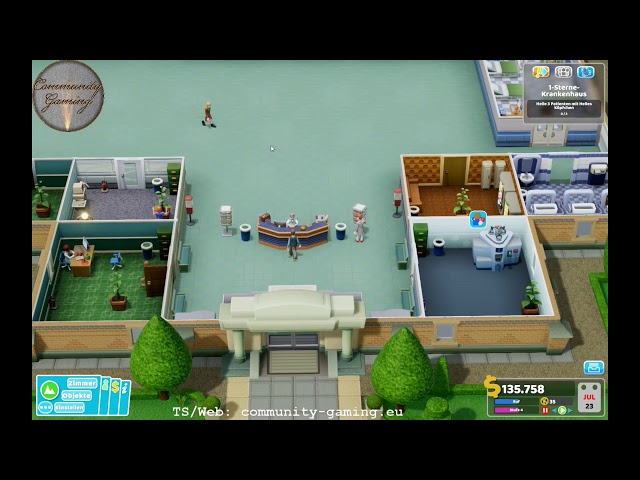 1-Stern-Bewertung | Folge #002 | Let's Play Two Point Hospital
