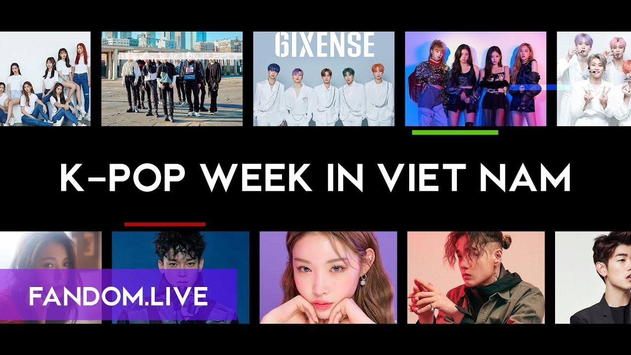 Fandom Live K-POP Week In Viet Nam