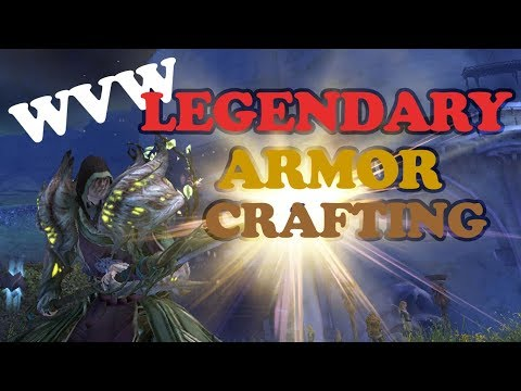 GW2 WVW Legendary Armor Crafting (Not As Expensive As You Might Think)