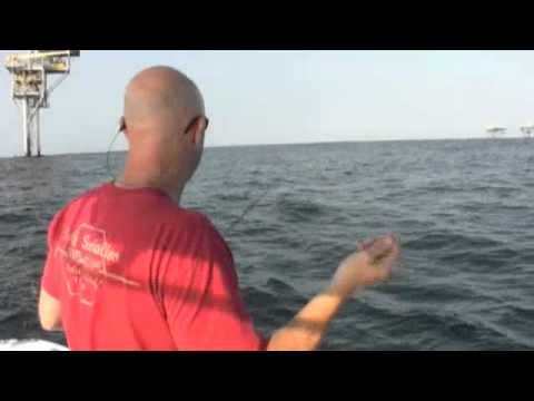 "Texas Fishing Tips - How to Catch Bait ""blue runners"" for Offshore Fishing"