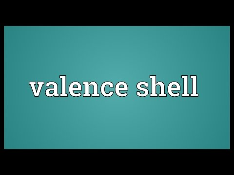 Valence shell Meaning