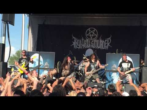 Thy Art Is Murder - Holy War live in Phoenix, Arizona Mayhem Fest 2015