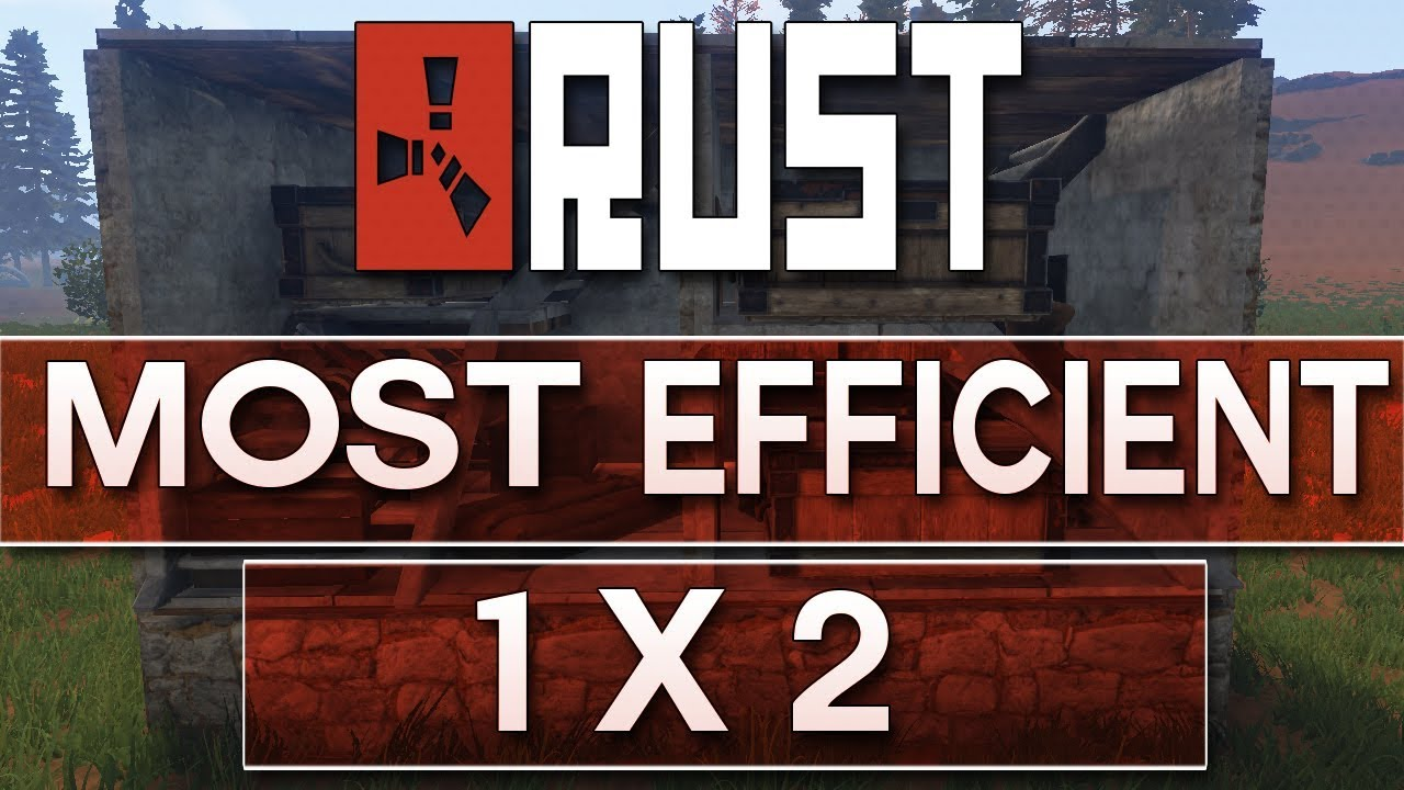 Rust most efficient no blueprints needed 1x2 base design rust base rust most efficient no blueprints needed 1x2 base design rust base building solo base malvernweather Images
