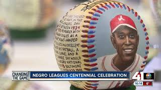 Negro Leagues Baseball Museum throws party to mark centennial of league's founding