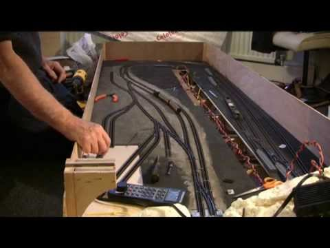 Folding Model railway part 8