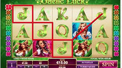 171 - Gaelic Luck slot game by Playtech - LIVE Test Gameplay