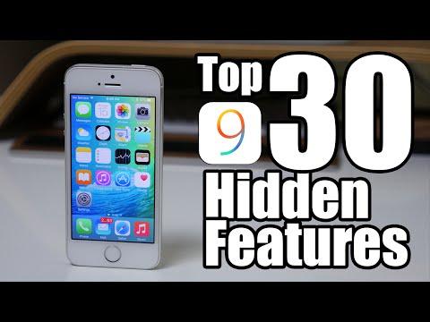 Top 30 iOS 9 Hidden Features