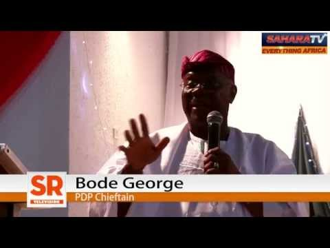 """2015: We Must Recapture Lagos from """"Jaga-Bandit"""" And Ship Him Back to Osun - Bode George"""