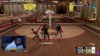 I BROKE HIS MYPLAYER 3 TIMES! RUFFLES WINNING COMP ELITE 3 DOUBLE CENTER LINEUP AMBUSH IN STAGE!