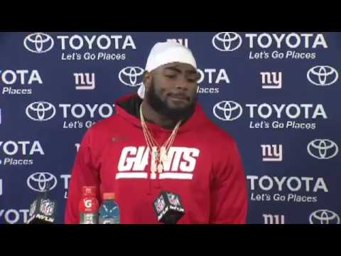 Landon Collins Post Game Press Conference | Giants vs Packers Playoffs