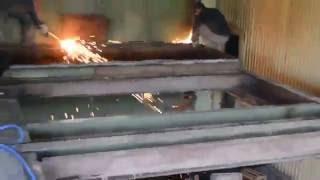 Приём цветного и чёрного металла - 54-й км МКАД(Постепенная разборка конструкций на металлолом компания Бакмет http://bakmetco.ru/, 2016-09-01T18:13:42.000Z)