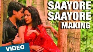 Making of Saayore Saayore Song | Moone Moonu Varthai | Arjun Chidambaram, Aditi Chengappa