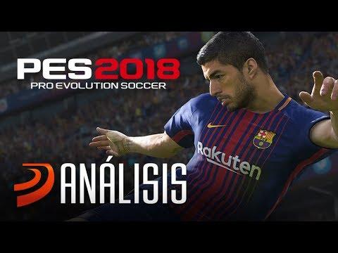 VideoReview de PES 2018. Análisis a fondo el fútbol de Konami