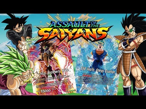 Assault of the Saiyans CARD SPOILERS!