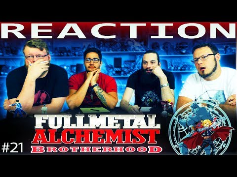 "Fullmetal Alchemist: Brotherhood Episode 21 REACTION!! ""Advance of the Fool"""
