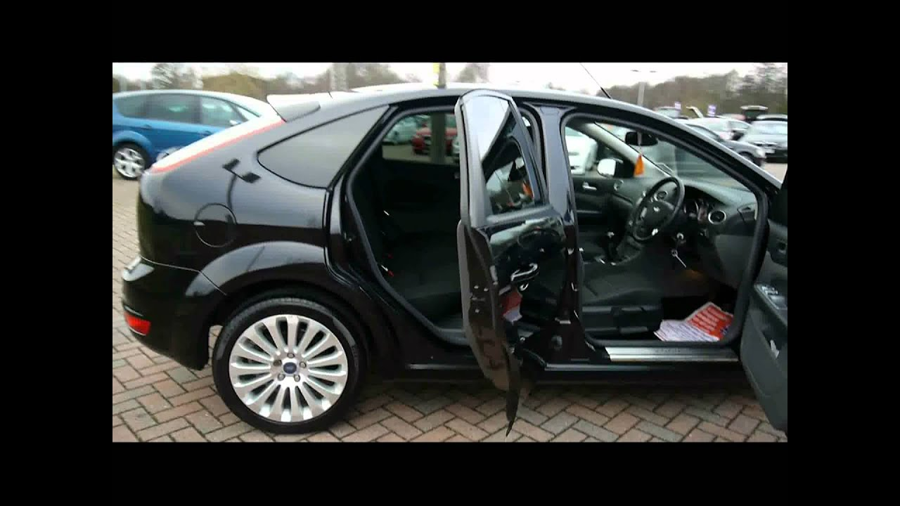 2008 Ford Focus Titanium 1 8tdci Black For Sale In