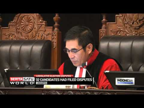 Indonesia's Constitutional Court Delivers Verdicts on Dozens of Election Disputes