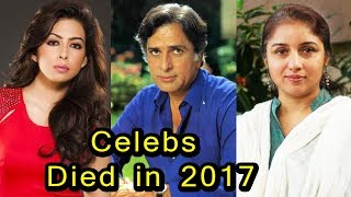 10 Famous Bollywood Celebrity Died in 2017  Shocking
