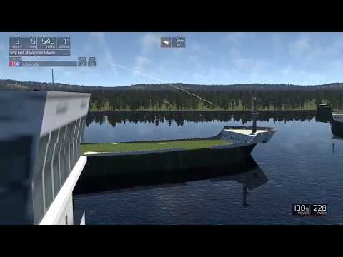 Golf Simulation Courses - Wanchors Away (Golf in Boats!)