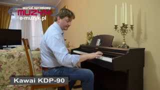 Kawai KDP-90 demo - budżetowe pianino cyfrowe