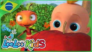 As Formigas Marcham - Canções Para Crianças - LooLoo Kids Português