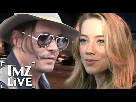 Amber Heard: Johnny Depp Is Scared (TMZ Live)