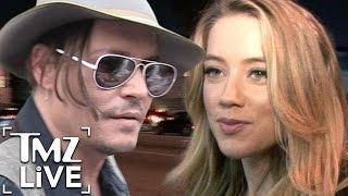 Amber Heard: Johnny Depp Is Scared | TMZ Live