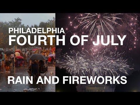 Philadelphia Fourth of July 2017 - Mary J. Blige, Rain, and Fireworks   10K Road Trip Day 35