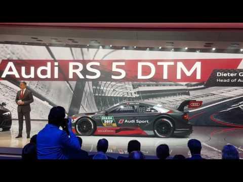 Audi RS5 DTM Weltpremiere in Genf 2017