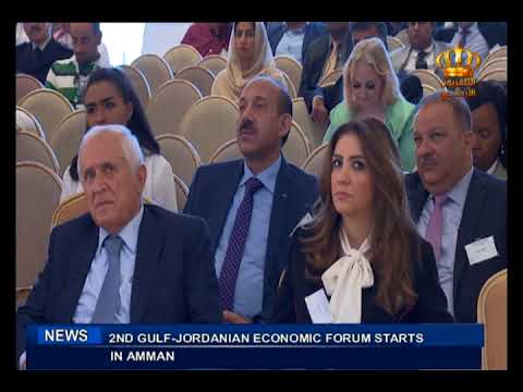 English News at Ten on Jordan Television 28-09-2017